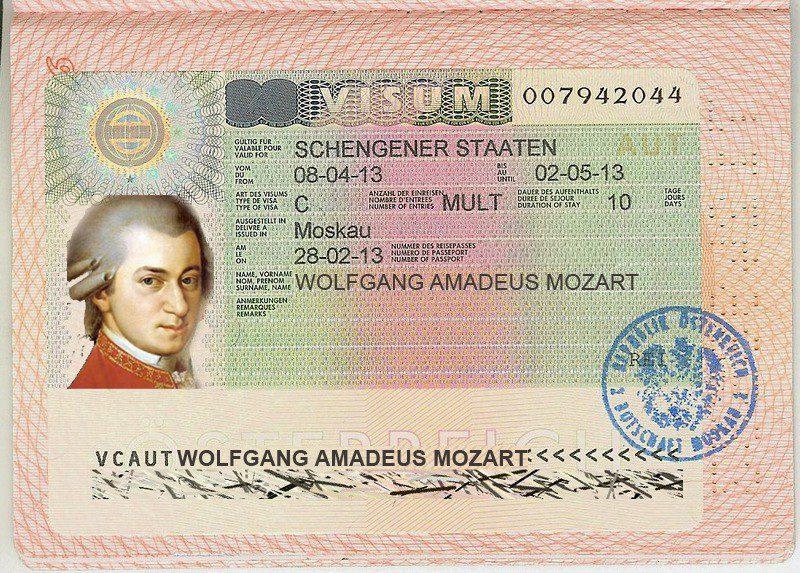 Виза в Австрию для россиян в 2019 году