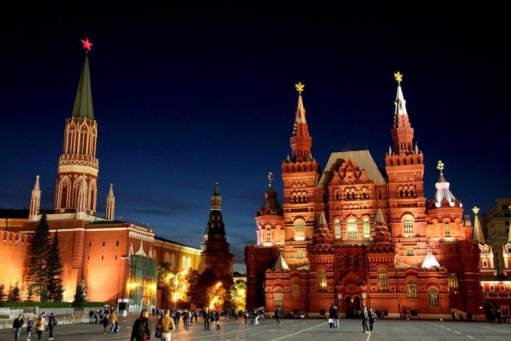 Город федерального значения Москва: достопримечательности